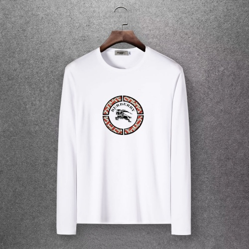 Burberry T-Shirts Long Sleeved O-Neck For Men #808315