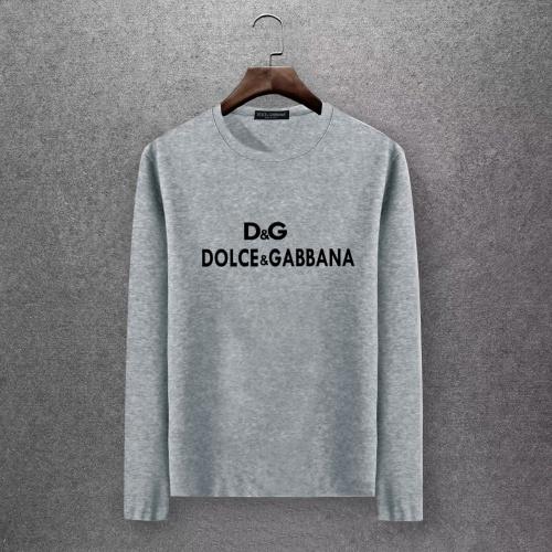 Dolce & Gabbana D&G T-Shirts Long Sleeved O-Neck For Men #808338