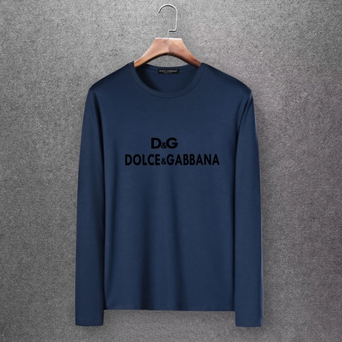 Dolce & Gabbana D&G T-Shirts Long Sleeved O-Neck For Men #808339