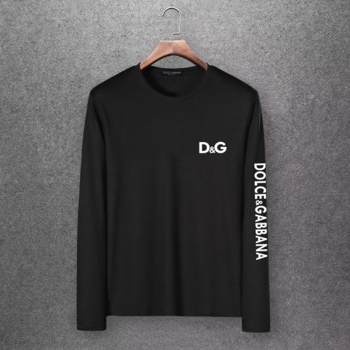 Dolce & Gabbana D&G T-Shirts Long Sleeved O-Neck For Men #808343