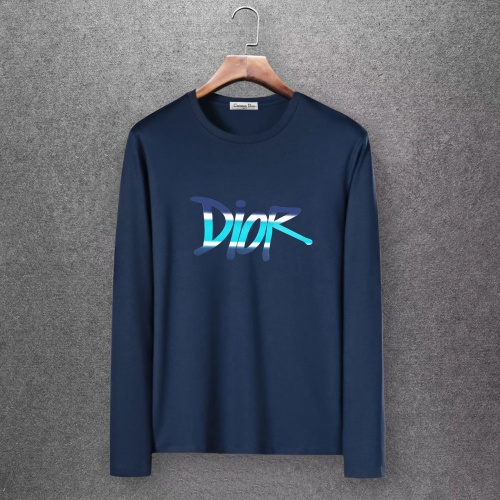Christian Dior T-Shirts Long Sleeved O-Neck For Men #808347