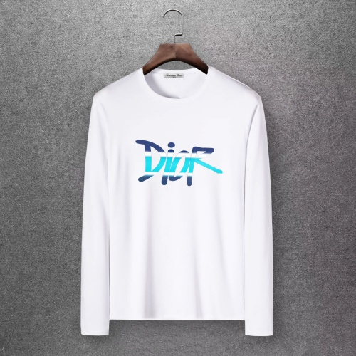 Christian Dior T-Shirts Long Sleeved O-Neck For Men #808350