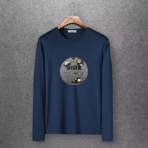 Christian Dior T-Shirts Long Sleeved O-Neck For Men #808354