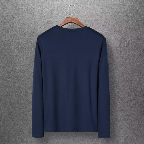 Replica Christian Dior T-Shirts Long Sleeved O-Neck For Men #808354 $27.00 USD for Wholesale