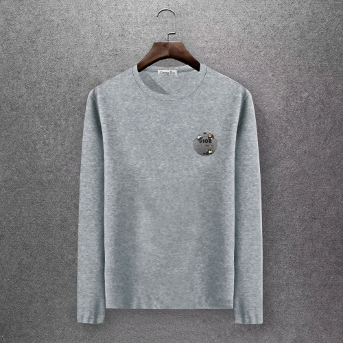 Christian Dior T-Shirts Long Sleeved O-Neck For Men #808363 $27.00 USD, Wholesale Replica Christian Dior T-Shirts
