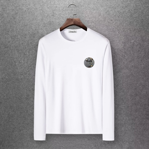 Christian Dior T-Shirts Long Sleeved O-Neck For Men #808364