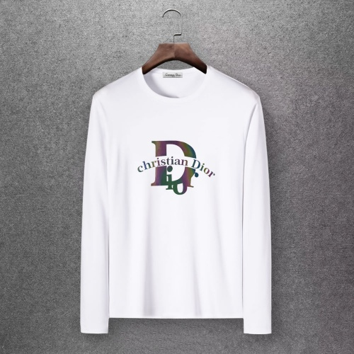 Christian Dior T-Shirts Long Sleeved O-Neck For Men #808365