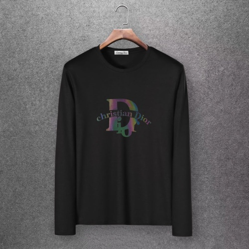 Christian Dior T-Shirts Long Sleeved O-Neck For Men #808367
