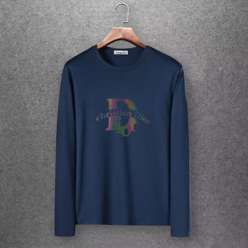 Christian Dior T-Shirts Long Sleeved O-Neck For Men #808368