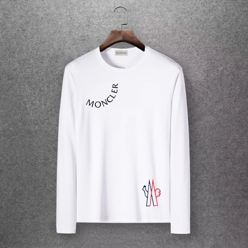 Moncler T-Shirts Long Sleeved O-Neck For Men #808433 $27.00 USD, Wholesale Replica Moncler T-Shirts
