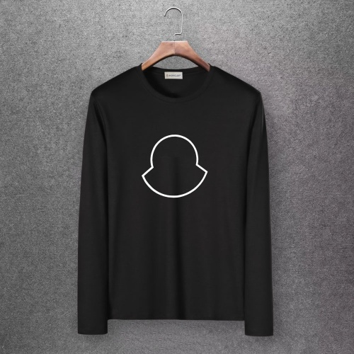Moncler T-Shirts Long Sleeved O-Neck For Men #808434 $27.00 USD, Wholesale Replica Moncler T-Shirts
