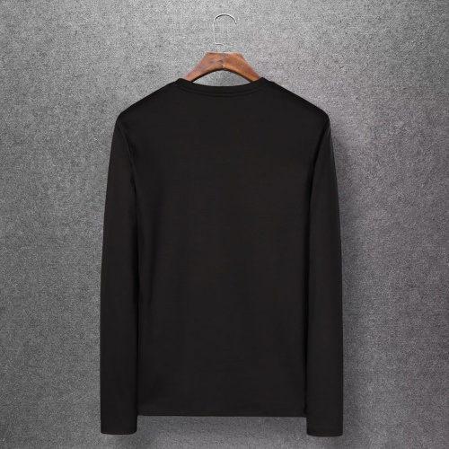 Replica Moncler T-Shirts Long Sleeved O-Neck For Men #808434 $27.00 USD for Wholesale