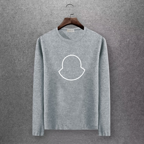 Moncler T-Shirts Long Sleeved O-Neck For Men #808435 $27.00 USD, Wholesale Replica Moncler T-Shirts