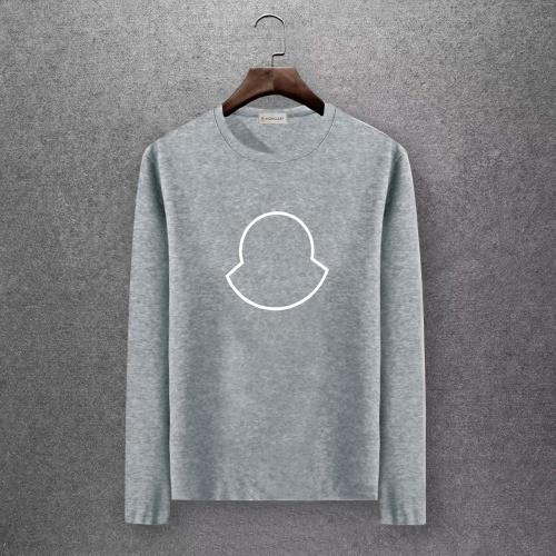 Moncler T-Shirts Long Sleeved O-Neck For Men #808435