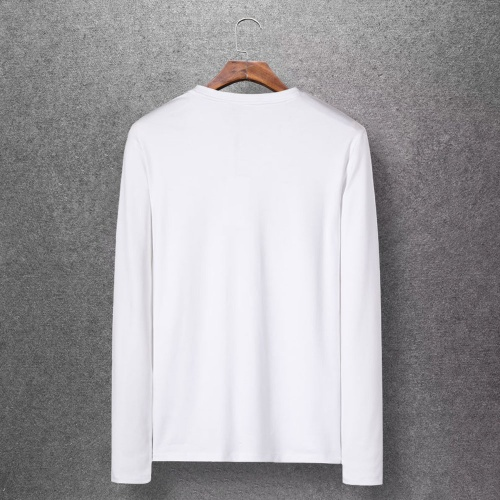 Replica Moncler T-Shirts Long Sleeved O-Neck For Men #808437 $27.00 USD for Wholesale