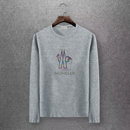 Moncler T-Shirts Long Sleeved O-Neck For Men #808438 $27.00 USD, Wholesale Replica Moncler T-Shirts