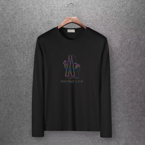 Moncler T-Shirts Long Sleeved O-Neck For Men #808439 $27.00 USD, Wholesale Replica Moncler T-Shirts