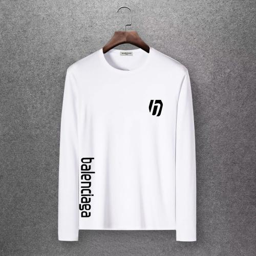 Balenciaga T-Shirts Long Sleeved O-Neck For Men #808468 $27.00 USD, Wholesale Replica Balenciaga T-Shirts