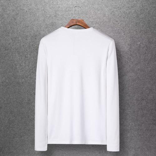 Replica Balenciaga T-Shirts Long Sleeved O-Neck For Men #808468 $27.00 USD for Wholesale