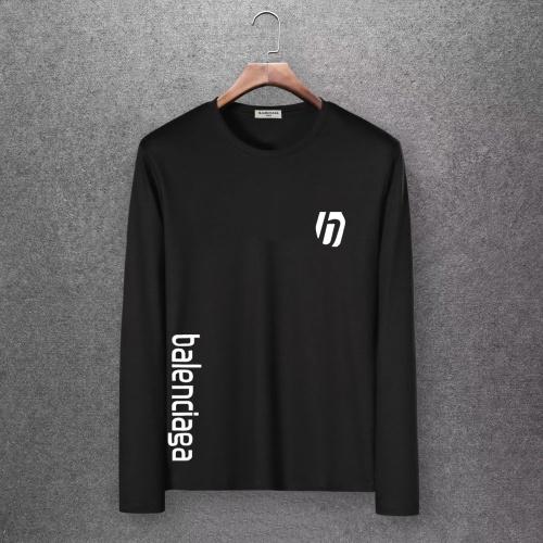 Balenciaga T-Shirts Long Sleeved O-Neck For Men #808469 $27.00 USD, Wholesale Replica Balenciaga T-Shirts
