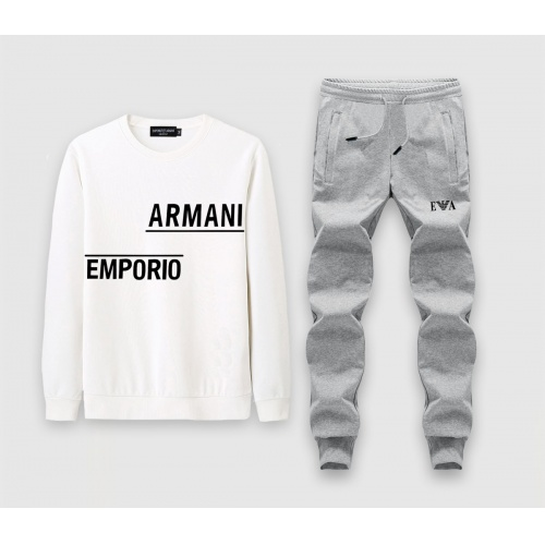 Armani Tracksuits Long Sleeved O-Neck For Men #808534