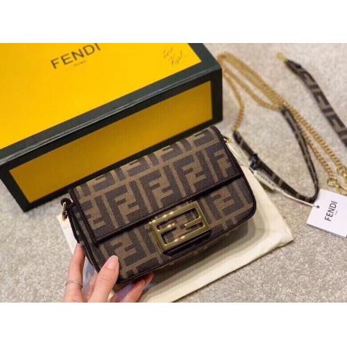Fendi AAA Quality Messenger Bags For Women #808581