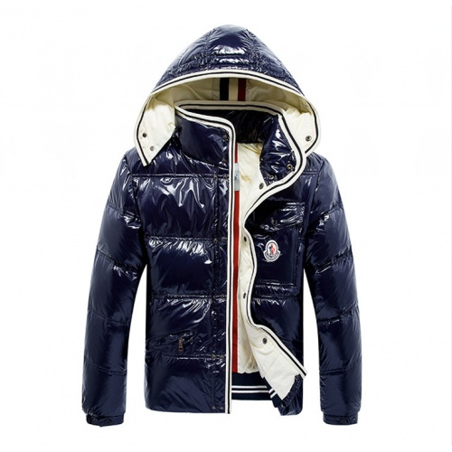 Moncler Down Feather Coat Long Sleeved Zipper For Men #808796