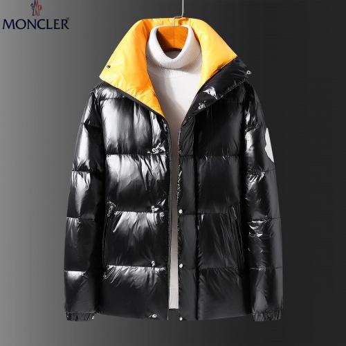 Moncler Down Feather Coat Long Sleeved Zipper For Men #808798