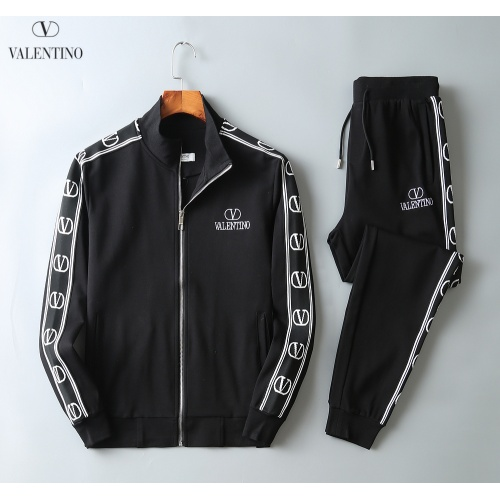 Valentino Tracksuits Long Sleeved Zipper For Men #808807
