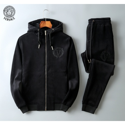 Versace Tracksuits Long Sleeved Zipper For Men #808810 $102.00 USD, Wholesale Replica Versace Tracksuits