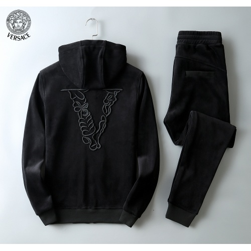 Replica Versace Tracksuits Long Sleeved Zipper For Men #808810 $102.00 USD for Wholesale