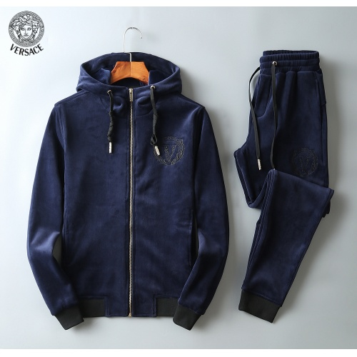 Versace Tracksuits Long Sleeved Zipper For Men #808812