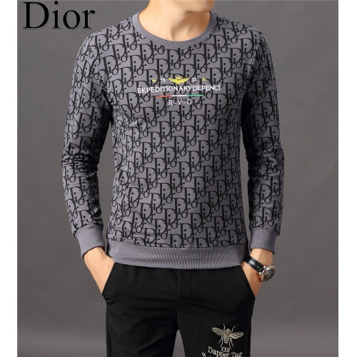 Christian Dior Hoodies Long Sleeved O-Neck For Men #808834
