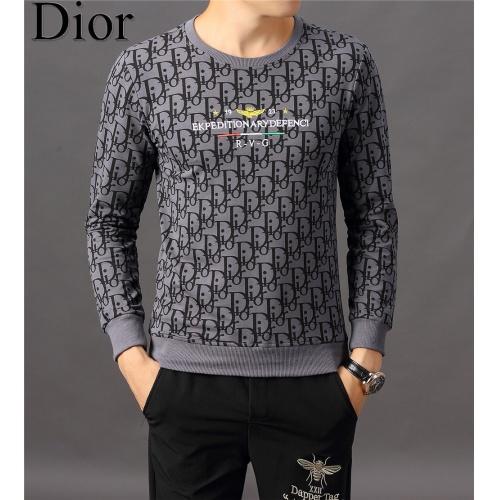 Christian Dior Hoodies Long Sleeved O-Neck For Men #808834