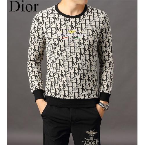 Christian Dior Hoodies Long Sleeved O-Neck For Men #808835