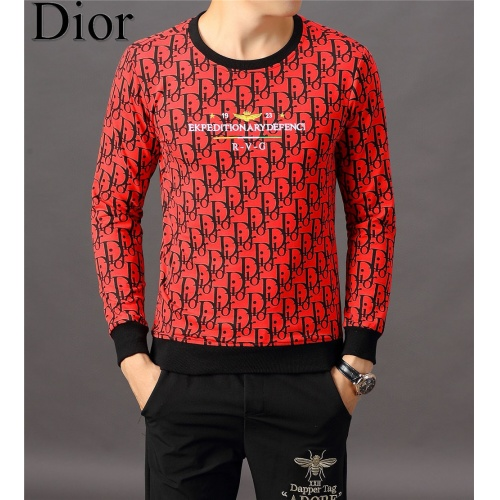 Christian Dior Hoodies Long Sleeved O-Neck For Men #808836