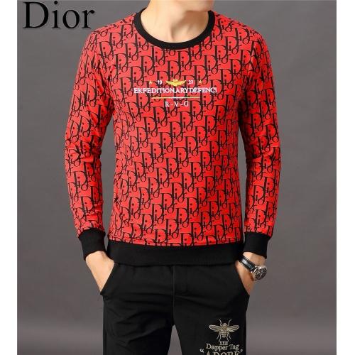 Christian Dior Hoodies Long Sleeved O-Neck For Men #808836