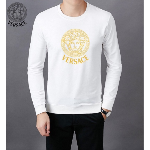 Versace Hoodies Long Sleeved O-Neck For Men #808837