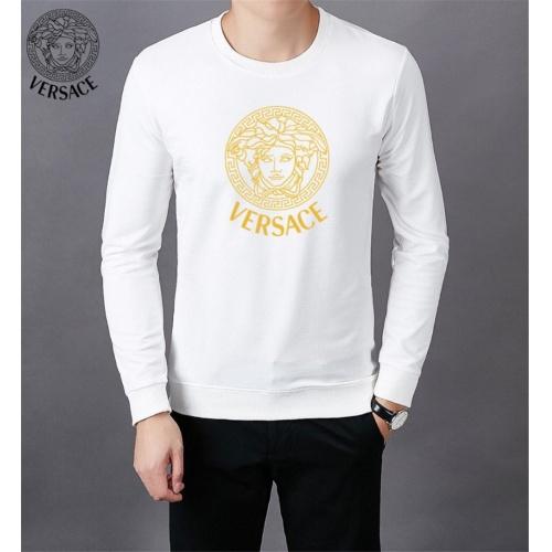 Versace Hoodies Long Sleeved O-Neck For Men #808837 $40.00 USD, Wholesale Replica Versace Hoodies