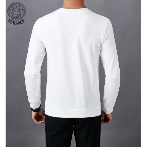 Replica Versace Hoodies Long Sleeved O-Neck For Men #808837 $40.00 USD for Wholesale