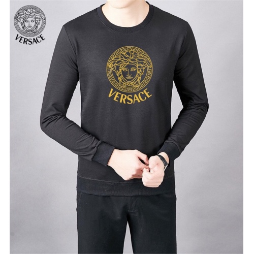 Versace Hoodies Long Sleeved O-Neck For Men #808839