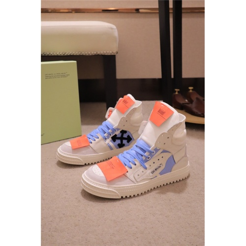 Off-White High Tops Shoes For Men #808896