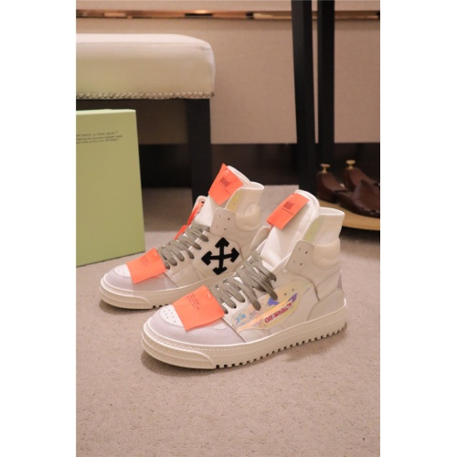 Off-White High Tops Shoes For Men #808897