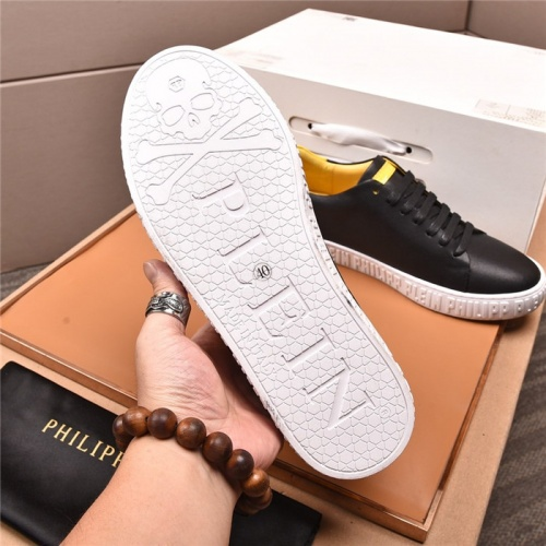 Replica Philipp Plein PP Casual Shoes For Men #808953 $80.00 USD for Wholesale