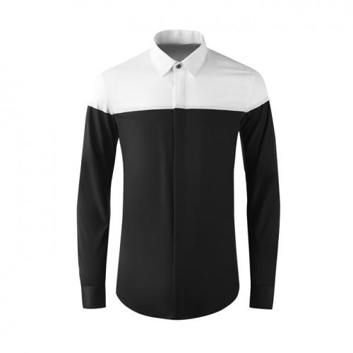 Armani Shirts Long Sleeved Polo For Men #808996
