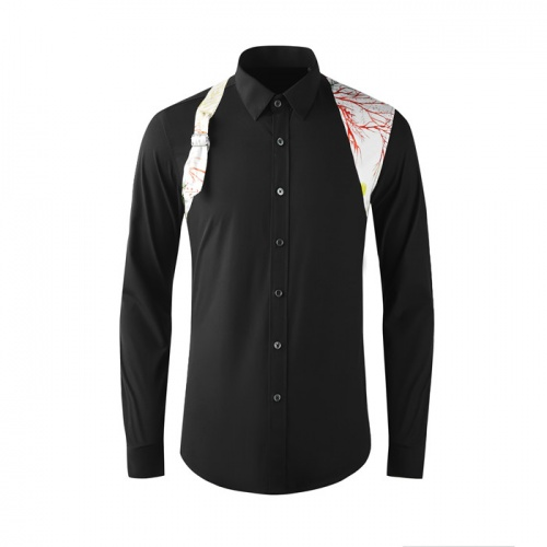 Armani Shirts Long Sleeved Polo For Men #808997
