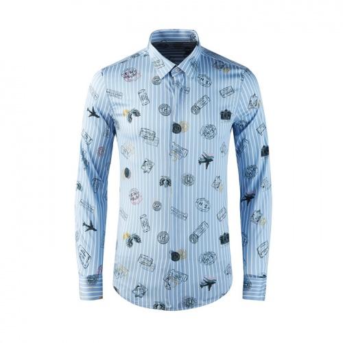 Armani Shirts Long Sleeved Polo For Men #809001
