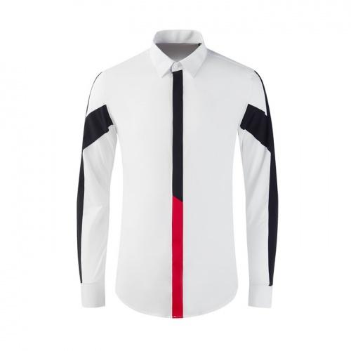 Armani Shirts Long Sleeved Polo For Men #809003