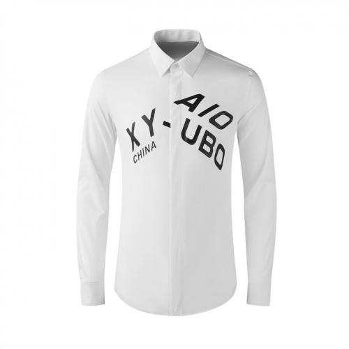 Armani Shirts Long Sleeved Polo For Men #809011