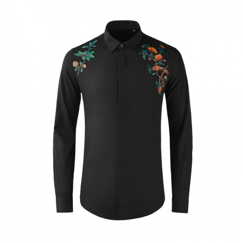 Dolce & Gabbana D&G Shirts Long Sleeved Polo For Men #809016